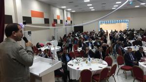 AK Partili Kırkpınar, Tire ve Gaziemir'de Erzurumlularla bir araya geldi