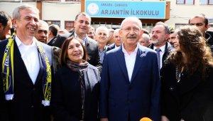 Ankara'da liderlerin sandıklarında sonuçlar belli oldu