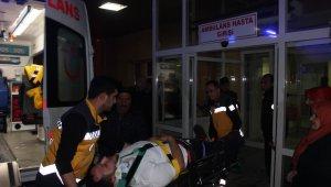 Buzlanma kazaya neden oldu: 11 yaralı