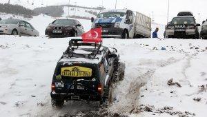 Erzurum'da off-road yarışları nefes kesti