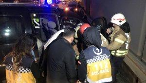 İstanbul'da kaza üstüne kaza: 5 yaralı