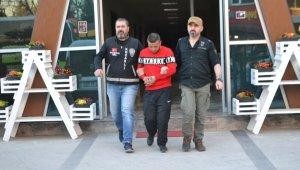 Koğuşta bir hükümlüyü yaralayan cezaevi firarisi 1 haftalık takiple yakalandı