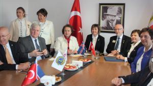 Lions Dünya Başkanı İGC'yi ziyaret etti