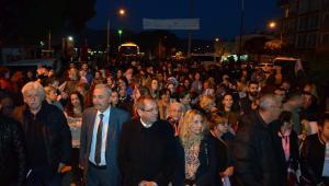 Mesut Ergin'i Altınova'da Binler Karşıladı