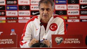 """Şenol Güneş: """"Avrupa Şampiyonası için bir adım daha atmak istiyoruz"""""""