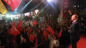 Soyer; 'Seferihisar'da yaktığımız bu ateş har olup Türkiye'yi saracak'