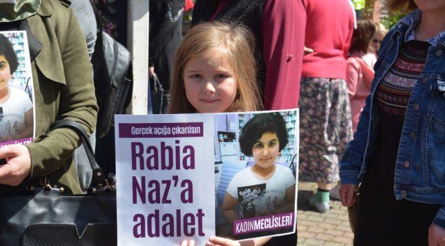 'Rabia Naz'a Adalet' için toplandılar