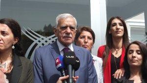 Ahmet Türk mazbatasını aldı