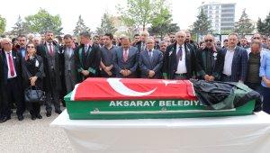 Aksaray'da öldürülen avukat son yolculuğuna uğurlandı