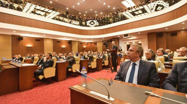 Ankara Büyükşehir Belediye Meclisi'nde faaliyet raporlarına onay