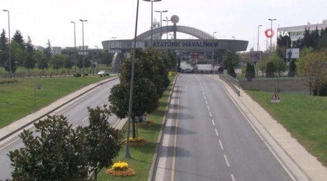 Atatürk Havalimanı en sessiz günlerini yaşıyor