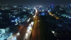 Atatürk Havalimanı taşınma sürecinde yollar trafiğe kapatıldı