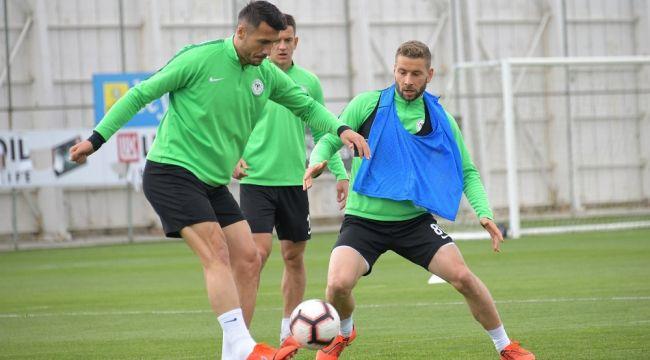 Atiker Konyaspor'da DG Sivasspor mesaisi sürdü