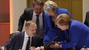 Avrupa liderleri, Brexit için toplandı
