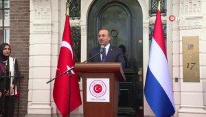 Bakan Çavuşoğlu, Amsterdam'da Başkonsolosluk binası açılışına katıldı