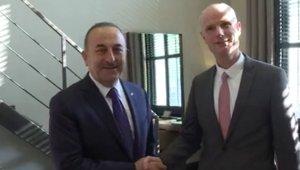 Bakan Çavuşoğlu, Hollandalı mevkidaşı Blok ile heyetlerarası görüşme yaptı