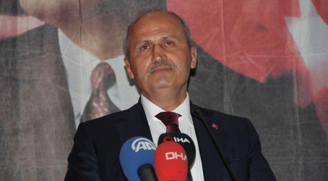 """Bakan Turhan: """"Türkiye, dünyanın lojistik üssü olmaya aday"""""""
