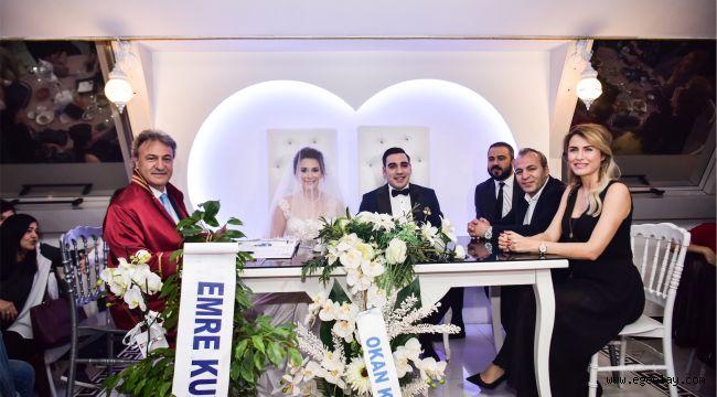 Başkan İduğ ilk nikahını kıydı