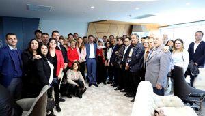 Başkan Sandal 2 Haftada 10 Bin Ziyaretçi Ağırladı