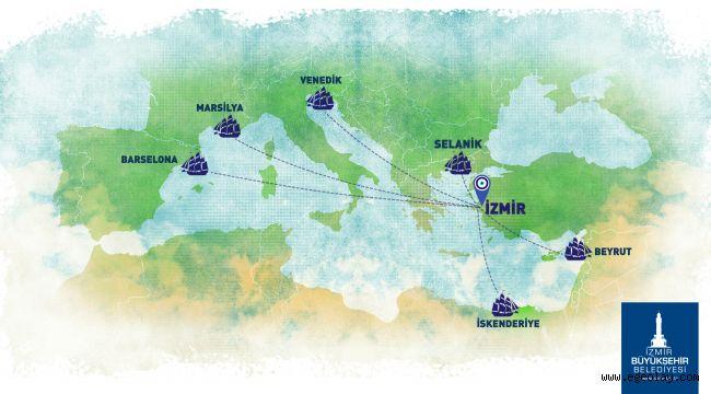 Başkan Soyer, altı Akdeniz kentinin yerel yöneticilerine özel bir mektup gönderdi