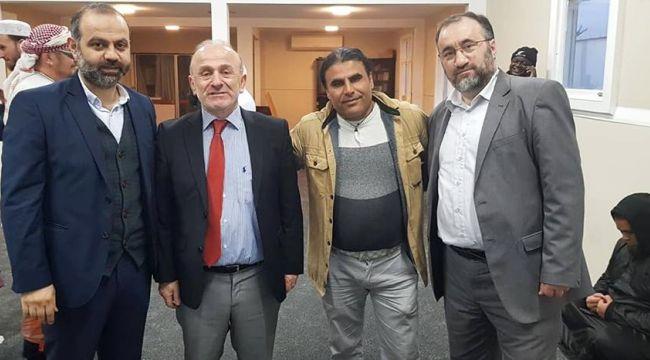 Belçika İslam Temsil Kurulu Başkanı Mehmet Üstün Yeni Zelanda'da