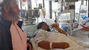 Belçika İslam Temsil Kurulu Başkanı Üstün, Yeni Zelanda'da hastanede yarılıları ziyaret etti