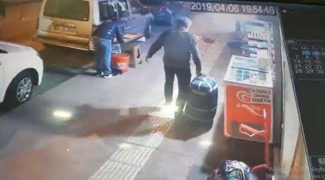 Bu da bavul hırsızı !