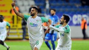 Bursaspor Mesut Bakkal ile ilk puanını aldı