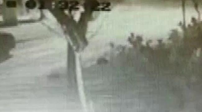 Caddebostan'daki feci kaza kamerada