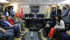 CHP İl'den Kılıç'a tebrik ziyareti