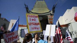 Çin'in Uygur Türklerine zulmü protesto edildi