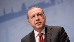 Cumhurbaşkanı Erdoğan, şampiyon sporcuları tebrik etti