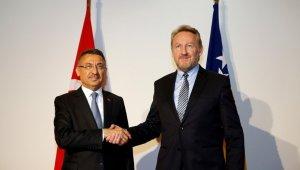 """Cumhurbaşkanı Yardımcısı Oktay: """"Türkiye, Bosna Hersek'in AB ve NATO üyeliğini destekliyor"""""""