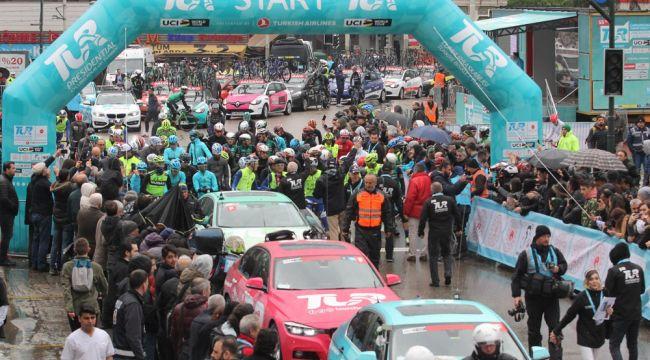 Cumhurbaşkanlığı Bisiklet Turu Bursa-Kartepe ayağı start aldı