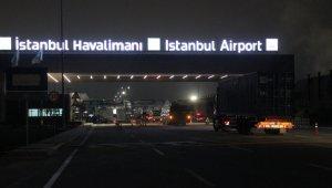 Dev konvoy İstanbul Havalimanı'na ulaştı