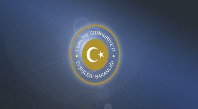 """Dışişleri Bakanı Çavuşoğlu'dan """"Notre Dame"""" mesajı"""