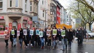 Dortmund'ta öldürülen Kubaşık için yürüdüler