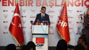 """Ekrem İmamoğlu: """"İstanbul'a hizmet edeceğime hepinizin huzurunda söz veriyorum"""""""