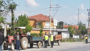 Emniyet'ten traktörlere denetim