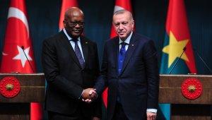 Erdoğan-Kabore ortak basın toplantısı