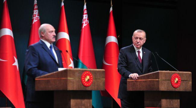 Erdoğan-Lukashenko ortak basın toplantısı