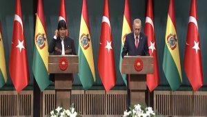 Erdoğan-Morales ortak basın toplantısı