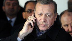 Erdoğan'dan Sri Lankalı mevkidaşına taziye telefonu
