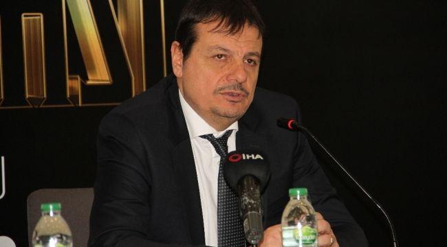 """Ergin Ataman: """"Saha avantajını kaybettik"""""""