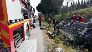 Feci kaza: 1 ölü, 3 yaralı