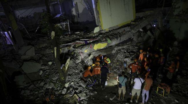 Filipinler'deki depremde ölenlerin sayısı 11'e çıktı
