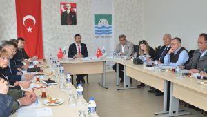 Foça Belediye meclisi Fatih Gürbüz başkanlığında ilk kez toplandı