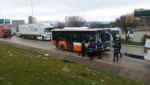 Gaziantep'te belediye otobüsü devrildi: 25 yaralı