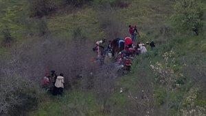 Gürpınar'da 55 kaçak göçmen yakalandı