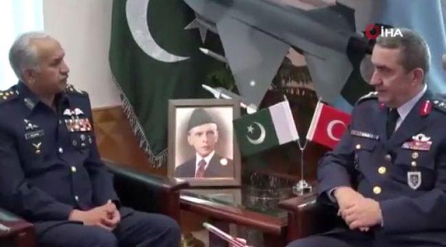 Hava Kuvvetleri Komutanı Orgeneral Küçükakyüz Pakistan'da